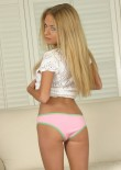Blonde Teen Rachel Strips Out Of Her Clothes - Picture 7
